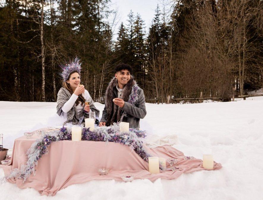 shooting hiver mariage