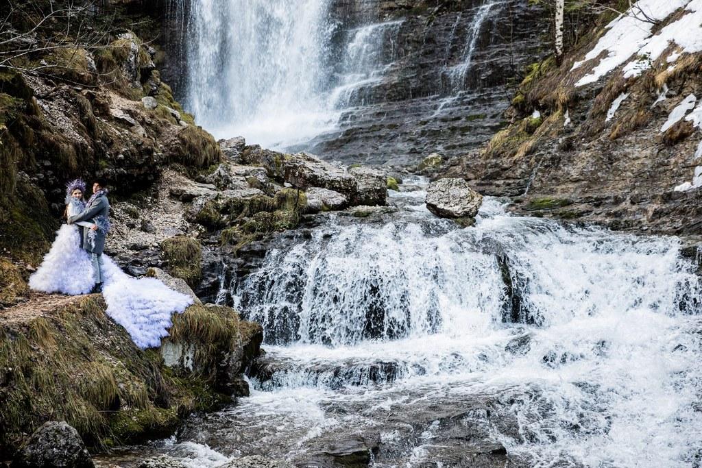 cascade de saint-même