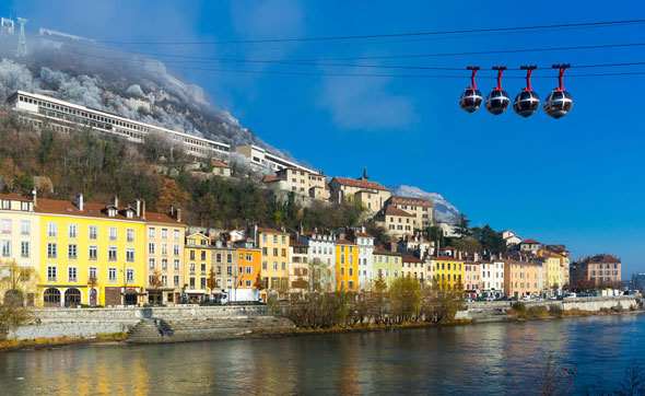 Grenoble : centre-ville