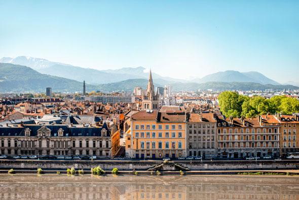 Isère : ville de Grenoble